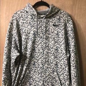 Nike black and grey hoodies
